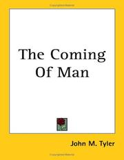 Cover of: The Coming of Man