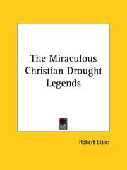 Cover of: The Miraculous Christian Drought Legends