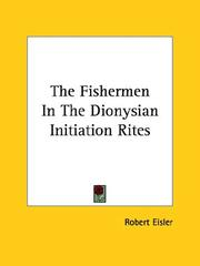 Cover of: The Fishermen in the Dionysian Initiation Rites