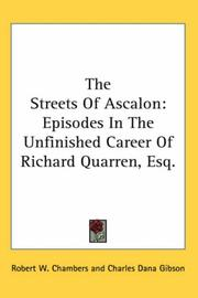 Cover of: The Streets Of Ascalon