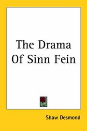 Cover of: The Drama of Sinn Fein