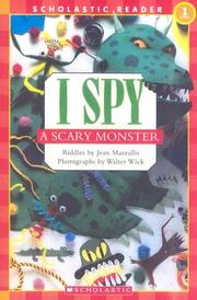 Cover of: I spy a scary monster | Jean Little