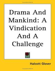 Cover of: Drama and mankind