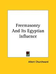 Cover of: Freemasonry and Its Egyptian Influence