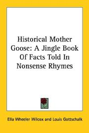 Cover of: Historical Mother Goose: a Jingle Book O