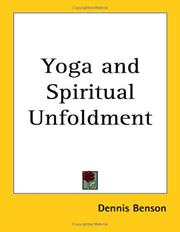 Cover of: Yoga And Spiritual Unfoldment