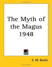 Cover of: The Myth of the Magus 1948