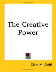 Cover of: The Creative Power