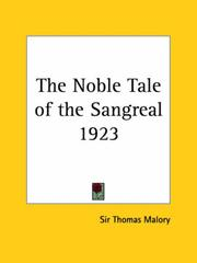 Cover of: The Noble Tale of the Sangreal 1923
