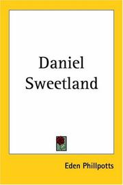 Cover of: Daniel Sweetland