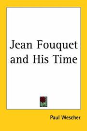 Cover of: Jean Fouquet and his time