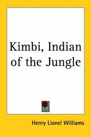 Cover of: Kimbi, Indian of the Jungle