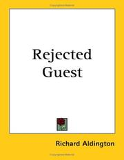 Cover of: Rejected guest: a novel
