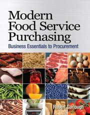 Cover of: Modern Food Service Purchasing | Robert B Garlough