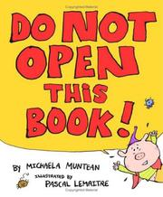 Cover of: Do not open this book