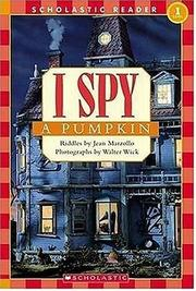Cover of: I Spy A Pumpkin