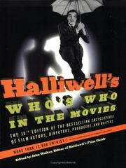 Cover of: Halliwell