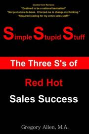 Cover of: Simple Stupid Stuff
