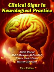 Cover of: Clinical Signs In Neurological Practice | Azhar Daoud