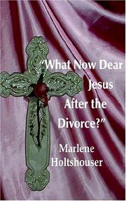 Cover of: What Now Dear Jesus After The Divorce?