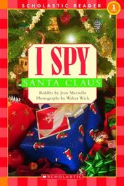 Cover of: I spy Santa Claus: riddles