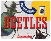 Cover of: Beetles (The Real Thing) | Paige Krul Araujo, Mary Packard