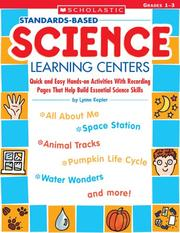 Cover of: Standards-Based Science Learning Centers