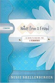 Cover of: Notes from a Friend