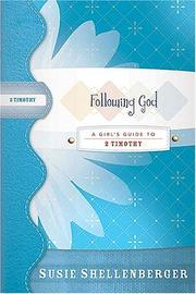 Cover of: Following God