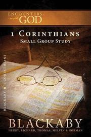 Cover of: 1 Corinthians | Richard, Thomas, Melvin, and Norman Blackaby Henry