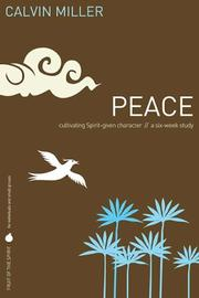 Cover of: Fruit of the Spirit: Peace