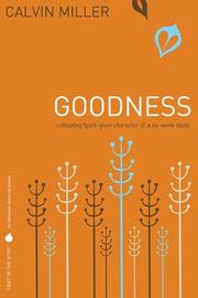 Cover of: Fruit of the Spirit: Goodness