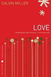 Cover of: Fruit of the Spirit: Love
