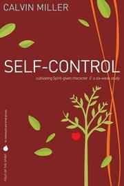 Cover of: Fruit of the Spirit: Self-Control