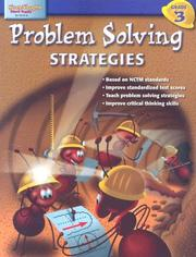 Cover of: Problem Solving Strategies Grade 3 (Problem Solving Strategies) | Steck-Vaughn Company