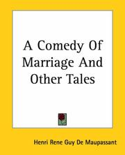 Cover of: A Comedy of Marriage and Other Tales