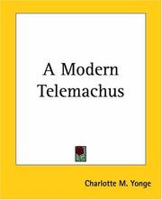 Cover of: A Modern Telemachus
