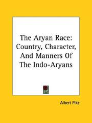 Cover of: The Aryan Race
