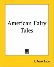 Cover of: American Fairy Tales