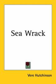 Cover of: Sea Wrack | Vere Hutchinson