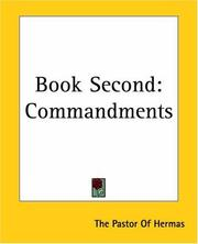Cover of: Book Second