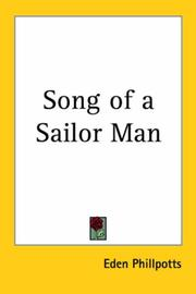 Cover of: Song of a sailor man