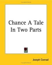 Cover of: Chance, a tale in two parts
