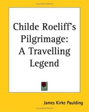 Cover of: Childe Roeliff's Pilgrimage