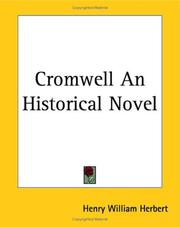 Cover of: Cromwell An Historical Novel