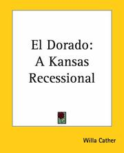 Cover of: El Dorado: A Kansas Recessional