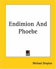 Cover of: Endimion & Phoebe: Ideas Latmus