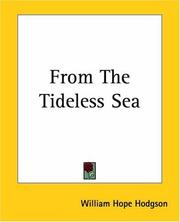 Cover of: From The Tideless Sea