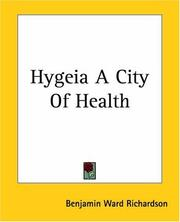 Hygeia A City Of Health