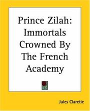 Cover of: Prince Zilah